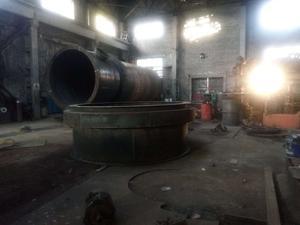 气火转化炉生产现场